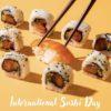 今日はなんのひ lnternational Sushi Day